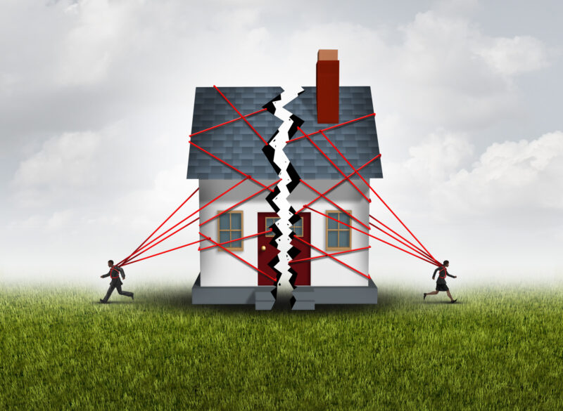 What happens to the house in a divorce? In a divorce, property is divided equitably - which is not always equally. Learn more here.